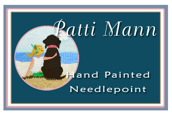 Patti Mann Hand Painted Needlepoint